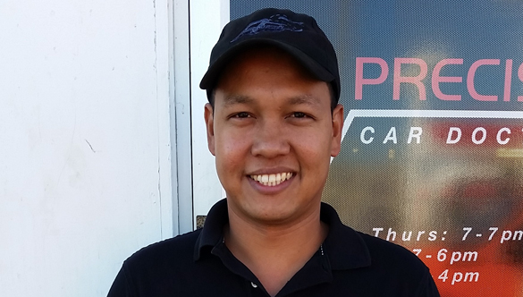 Ryan Crisostomo, Master Mechanic